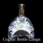 Cognac Bottle Lamps