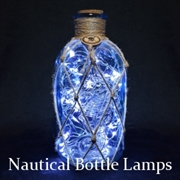 Nautical Bottle Lamps