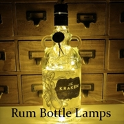 Rum Bottle Lamps