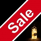 Upcycled Bottle Lamp Sale