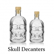 Skull Decanters And Bottles