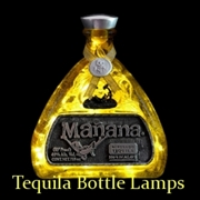 Tequila Bottle Lamps