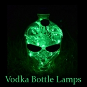 Vodka Bottle Lamps