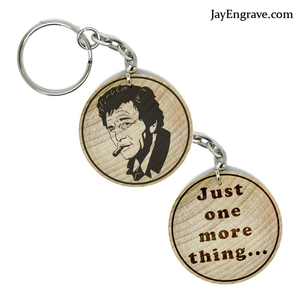 KeyChain Hand Made Wooden KeyRing