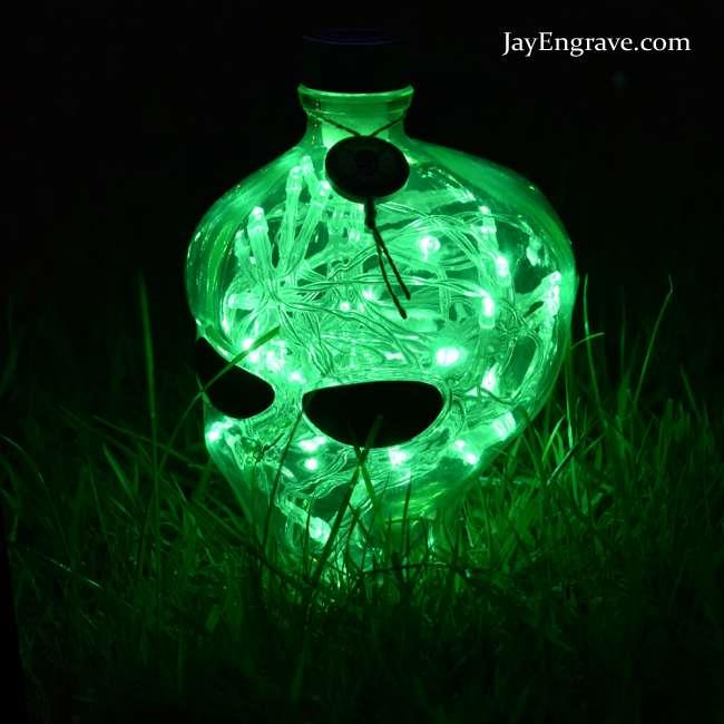 👽 Outerspace Vodka Alien Head LED Bottle Lamp Light