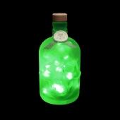 JayEngrave Green 50 LED Pirate Style Skull Bottle Light