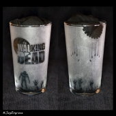 The Walking Dead (Engraved Glass)
