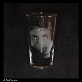 Ian Curtis - Joy Division (Hand Engraved Pint Glass)