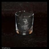 Harrison Ford - Indiana Jones (Engraved Glass)