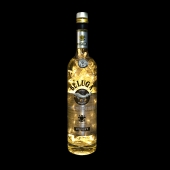 Beluga Noble Russian Vodka 700ml Upcycled LED Bottle Lamp Light