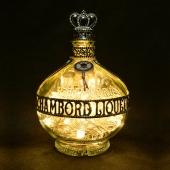 Chambord Retro 700ml 70cl Upcycled Warm White LED Bottle Lamp Light