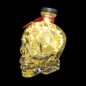Crystal Head Vodka 700ml 70cl Upcycled Skull LED Bottle Lamp Light