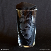 Kiefer Sutherland as Vampire David - The Lost Boys (Hand Engraved Pint Glass)