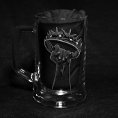 Game Of Thrones Crown (Hand Engraved Glass Tankard)