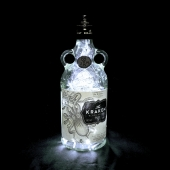 Kraken Rum UK Mains Powered 100 LED Bottle Lamp