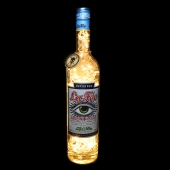 La Fee Absinthe Blanche 70cl Upcycled 80 LED Bottle Lamp Light