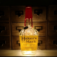 Makers Mark Kentucky Straight Bourbon Whisky Bottle Lamp Light