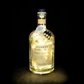 Monkey Shoulder Whisky Whiskey 1L Upcycled 80 LED Bottle Lamp Light