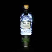 Oxley London Dry Gin Bottle LED Lamp