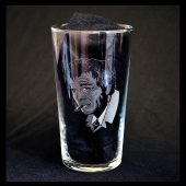 Peter Falk - Lt Columbo (Hand Engraved Pint Glass)
