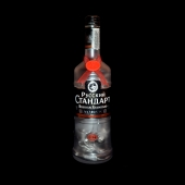 Russian Standard Vodka Upcycled Bottle LED Lamp Light