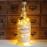 Balvenie 12 Years Scotch Whisky LED Bottle Lamp Light