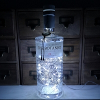 The Botanist Dry Gin Upcycled LED Bottle Lamp Light