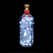 Tincup American Whiskey Whisky Upcycled 750ml LED Bottle Lamp Light