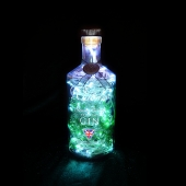 Williams Great British Extra Dry Gin Bottle LED Lamp